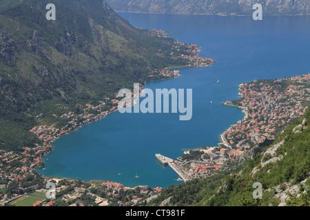 Montenegro Kotor bay - Stock Photo