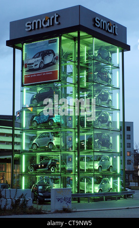Smart Tower in Duesseldorf - Stock Photo