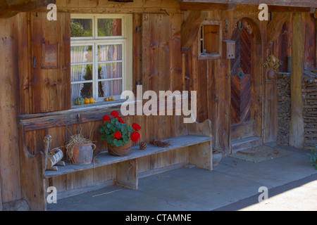Farmhouse in the village of Geschwend, Todtnau-Geschwend, Southern part of Black Forest, Black Forest, Baden-Wuerttemberg, - Stock Photo