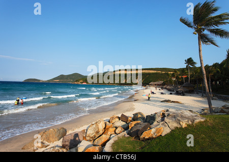 Beach, Vinpearl Island Resort, Hon Tre, Nha Trang, Khanh Ha, Vietnam - Stock Photo
