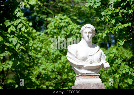 statue in antique Roman style outdoor - Stock Photo