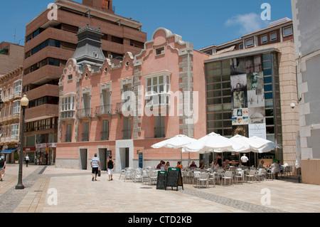 Roman Theatre Museum Cartagena city Centre southern Spain - Stock Photo