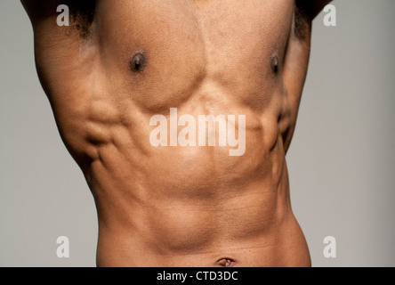 Male torso - Stock Photo