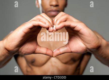 Heart health  conceptual image - Stock Photo
