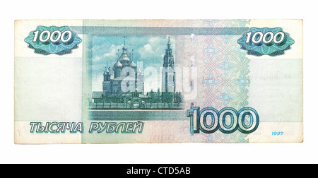 1000 Russian rubles of 1997 - Stock Photo