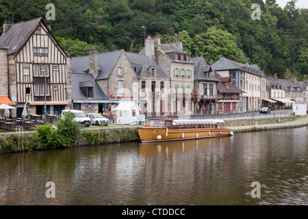 Dinan, Brittany, France - Stock Photo