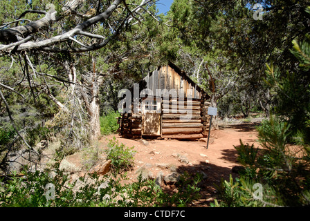 ... Pioneer Cabin On Taylor Creek Trail In Kolob Canyons In Zion National  Park, Utah