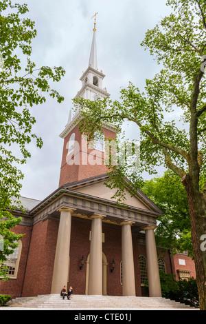 Harvard Memorial Church, Cambridge, MA - Stock Photo