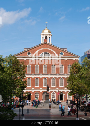 Faneuil Hall, Boston - Stock Photo