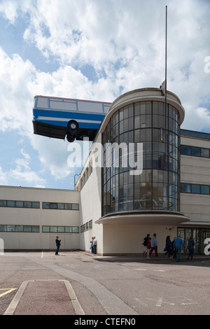 Hang On A Minute Lads, I've Got A Great Idea..., Bexhill, United Kingdom. Architect: Richard Wilson, 2012. View - Stock Photo