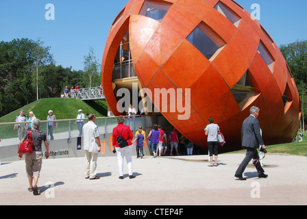 My Green World at Floriade 2012, world horticultural expo Venlo Netherlands - Stock Photo