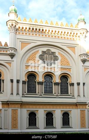 Spanish Synagogue in Prague, Czech Republic - Stock Photo