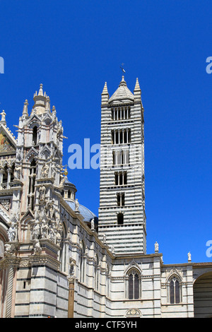 Italy, Tuscany, Siena, Duomo Santa Maria Assunta, UNESCO World Heritage - Stock Photo