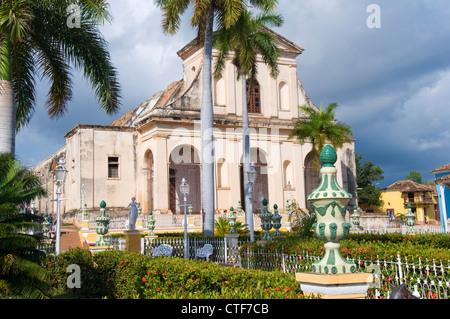 Church of the Holy Trinity, Trinidad, Cuba - Stock Photo