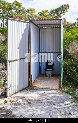 An Old Australian Dunny Stock Photo Royalty Free Image