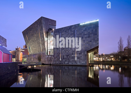 The Netherlands, Eindhoven, Van Abbe Museum. - Stock Photo