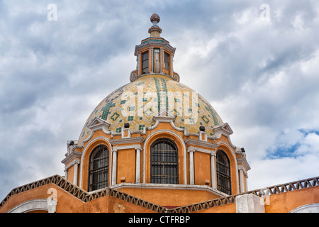 Church of Neustra Senor de los Remedios or Our Lady of Remedios - Stock Photo
