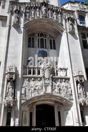 Supreme Court in London - UK - Stock Photo