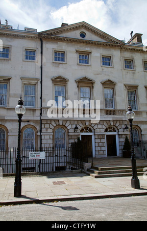 Old Palace Yard in Westminster - London UK - Stock Photo
