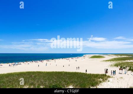 Beach in Chatham, Cape Cod, Massachusetts, USA - Stock Photo
