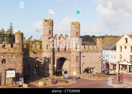 Macroom, West Cork, Ireland. The Castle - Stock Photo