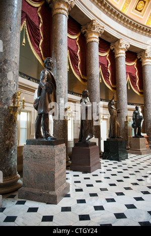 The Hall Of Statues Inside The Us Capitol Building In