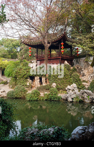 Tuisi garden in Tongli of Suzhou, which built in 1885, is one of the world cultural heritage, Tongli of Suzhou, - Stock Photo