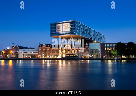 The Netherlands, Rotterdam, Headquarters of Unilever Netherlands. - Stock Photo