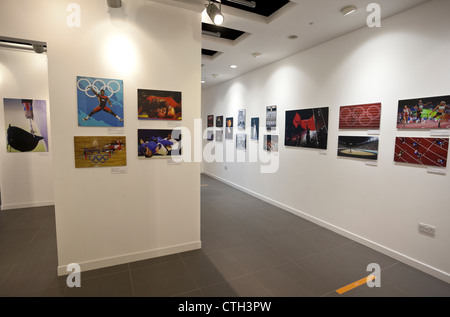 Getty Images Gallery, Olympic Games Through The Ages photography exhibition, Westfield Stratford City, London, England, - Stock Photo
