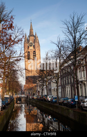 The Netherlands, Delft, Old Church.