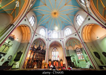 England, London, The City, Fleet Street, St.Dunstan-in-the-West Church - Stock Photo