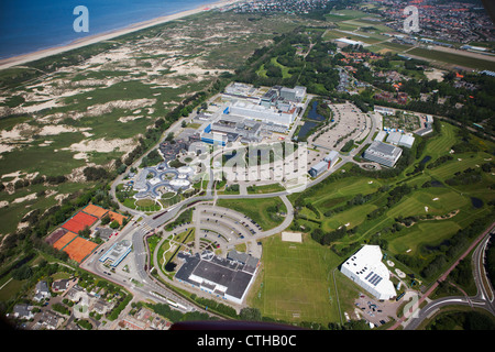 The Netherlands, Noordwijk, European Space Research and Technology Centre. Aerial. - Stock Photo