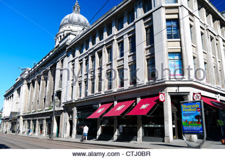 Nottingham City Centre, UK. - Stock Photo
