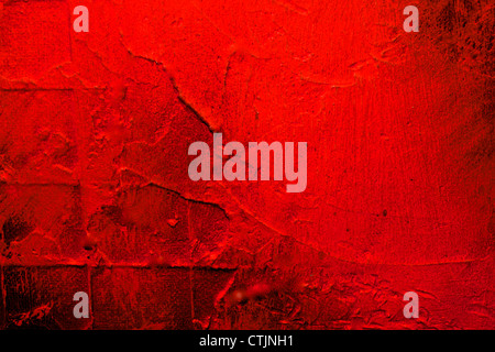 red background or frame with lots of texture and detail - Stock Photo