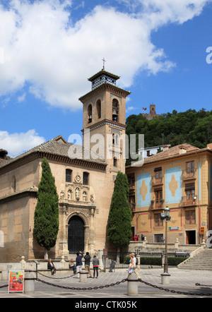 Iglesia de santa ana granada stock photo royalty free - Santa ana granada ...