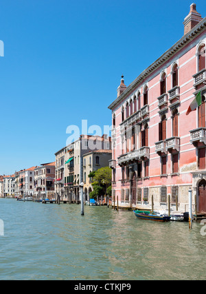 Cityscape of Venice taken on the Grand canal Italy - Stock Photo