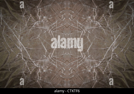 art background with crumpled gray , abstract wallpaper - Stock Photo