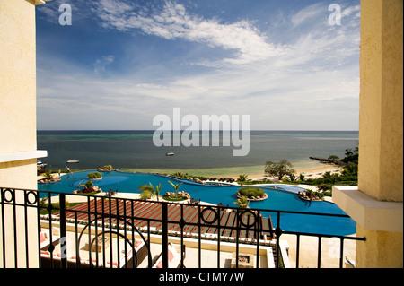 Pristine Bay Resort in Roatan, Honduras - Stock Photo