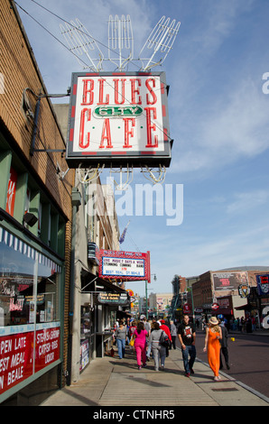 Blues City Cafe Beale Street
