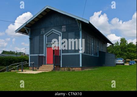 Peasenhall Village Hall. Suffolk - Stock Photo