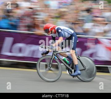 Chris Froome London 2012 bronze medalist - Stock Photo