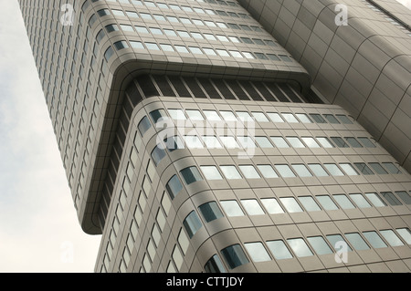 Main building of Deutsche Bahn in Frankfurt am Main, Germany - Stock Photo