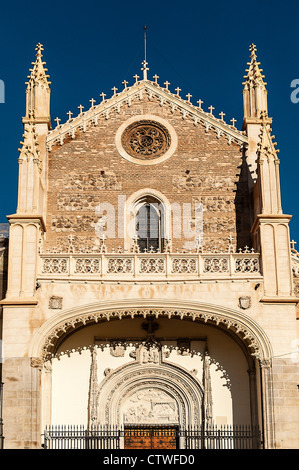 San Jerónimo el Real, Madrid, Spain 1503 - Stock Photo