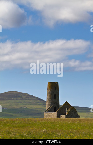 Orkney islands, Egilsay, St Magnus Church - Stock Photo
