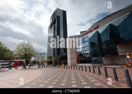 International Conference Centre and Symphony Hall, Birmingham uk - Stock Photo