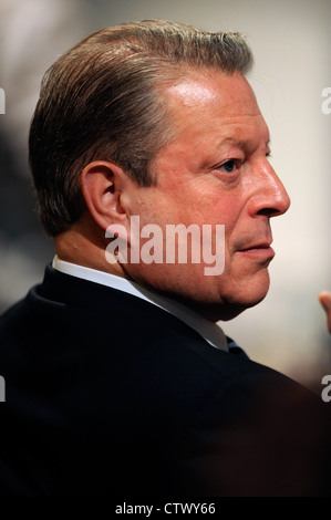 Former US Vice President Al Gore and climate change campaigner Al Gore at the Times World Forum On Enterprise & - Stock Photo