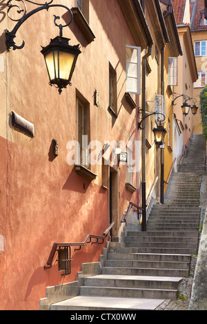 Warsaw Old Town, Poland - Stock Photo