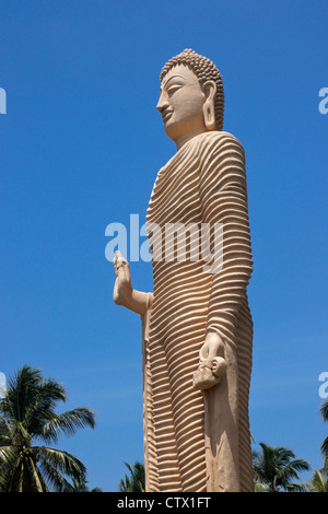 Tsunami Honganji Vihara memorial, Peraliya, Sri Lanka - Stock Photo