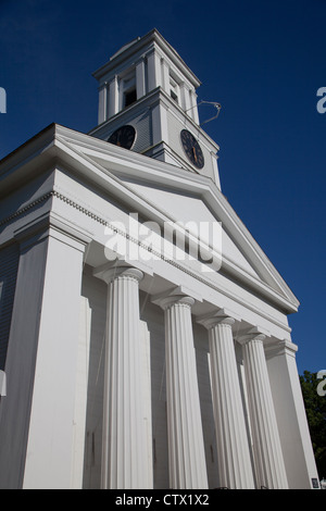 First Church of Christ in Saybrook CT - Stock Photo