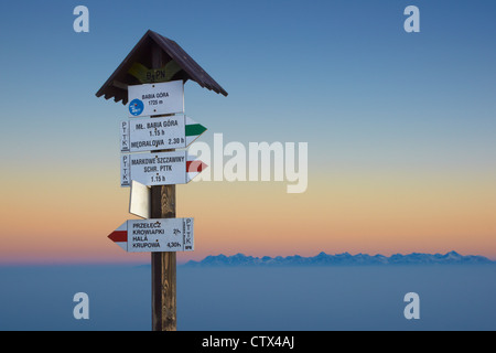 Babia Góra National Park, Poland, Europe - Stock Photo